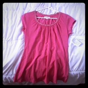 Coldwater Creek pink tee